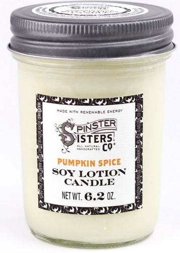 Soy Lotion Candle - Pumpkin Spice