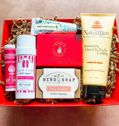 Head-to-Toe pamper package