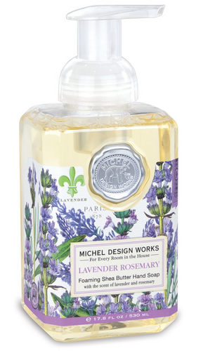 Michel Design Works Lavender Rosemary Foaming Hand Wash