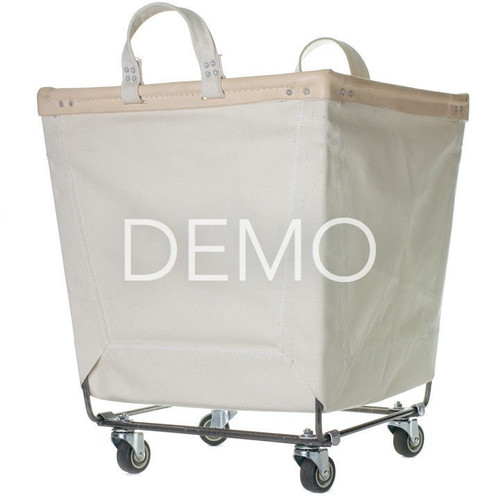 [Sample] Canvas Laundry Cart
