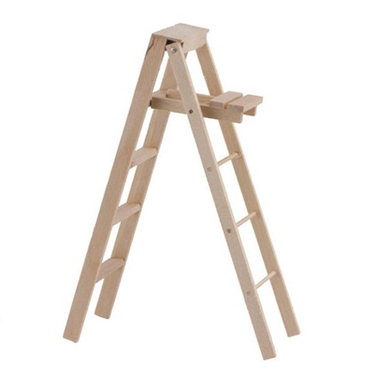 "5"" wooden folding stepladder"