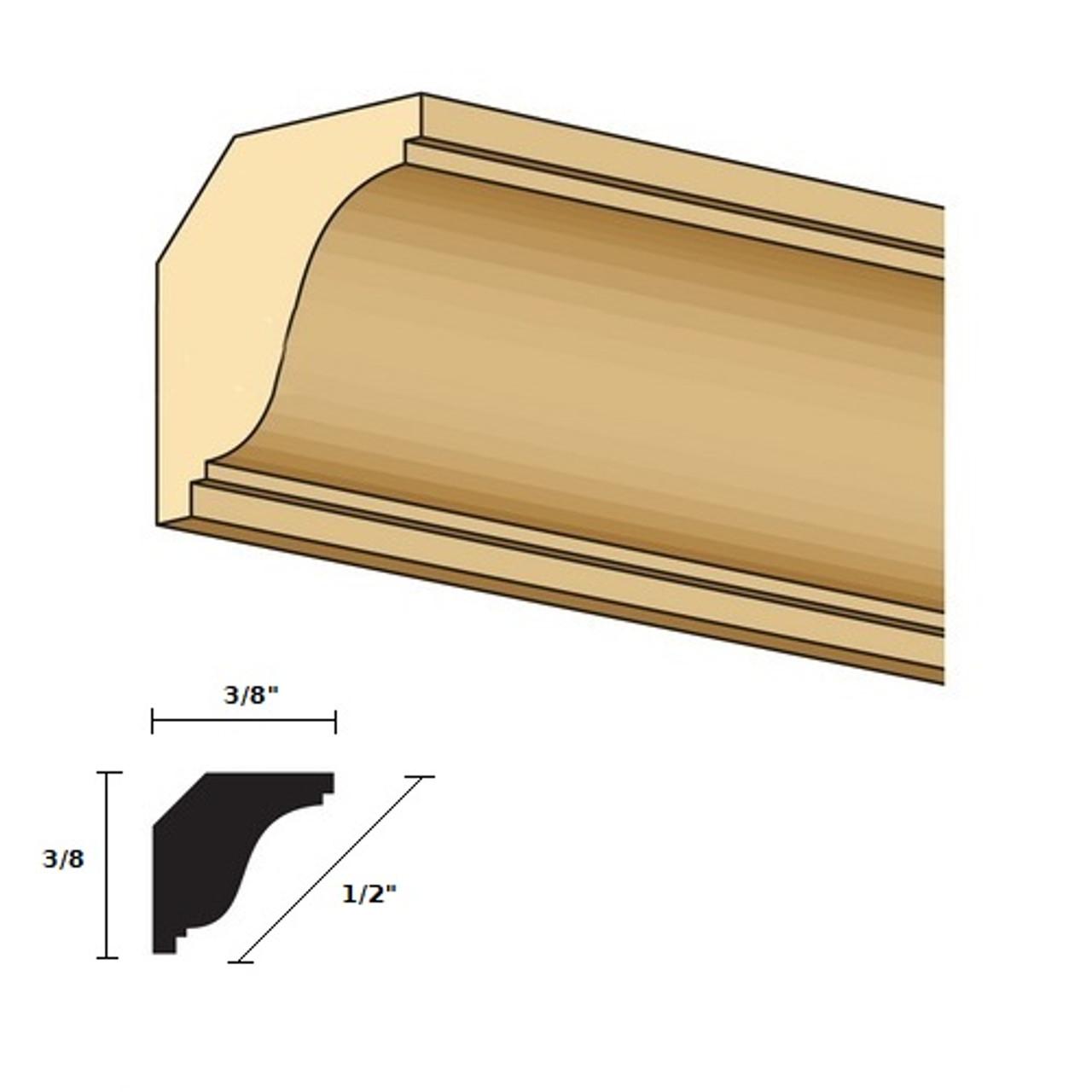 Illustration CLA77047 crown/cornice detail