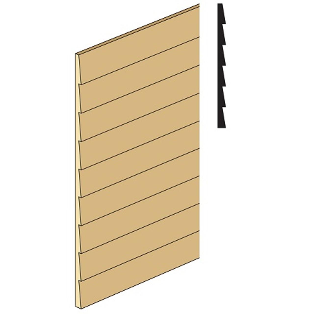 Northeastern Scale Lumber NE383 clapboard siding