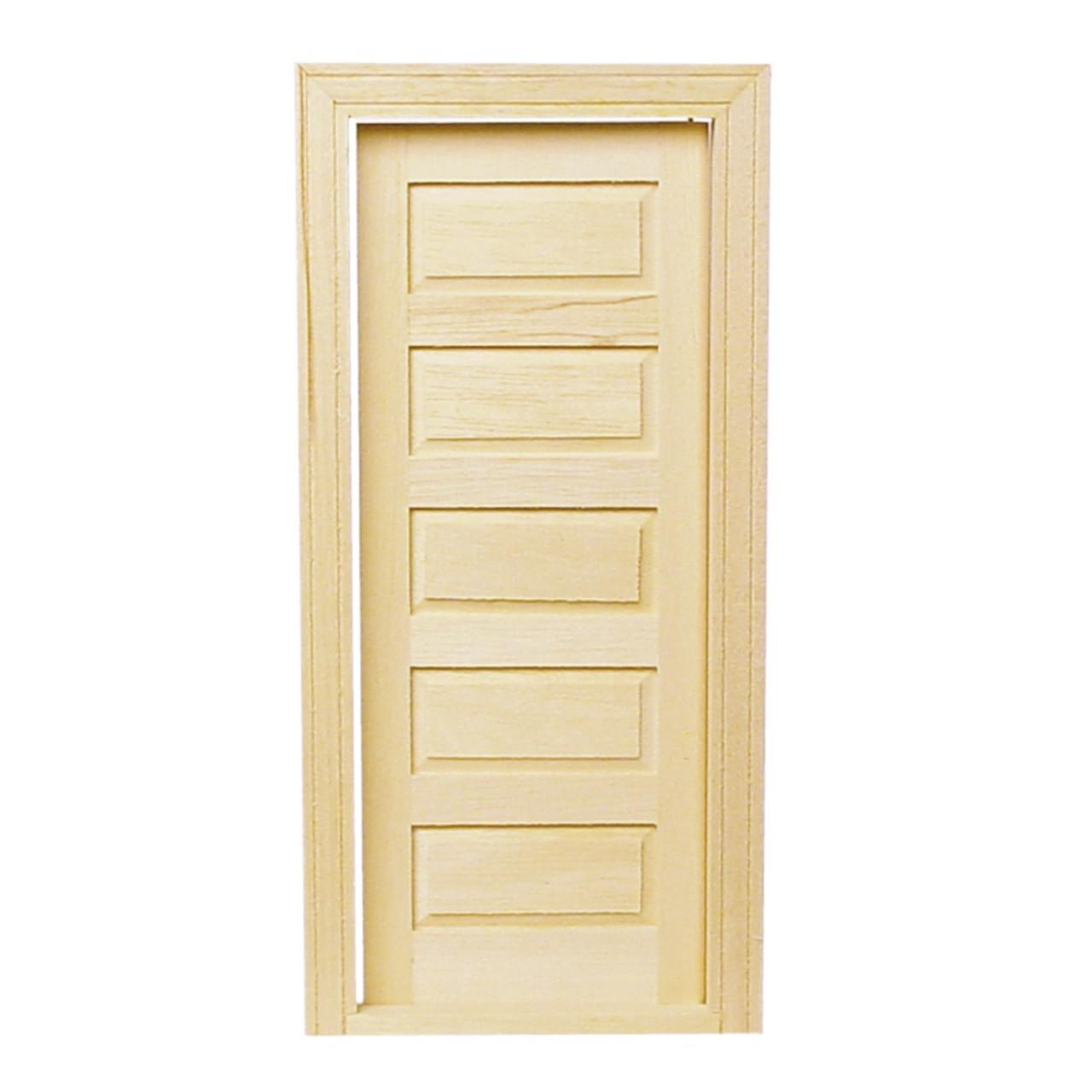 5-Panel Traditional Interior Door (HW6021)