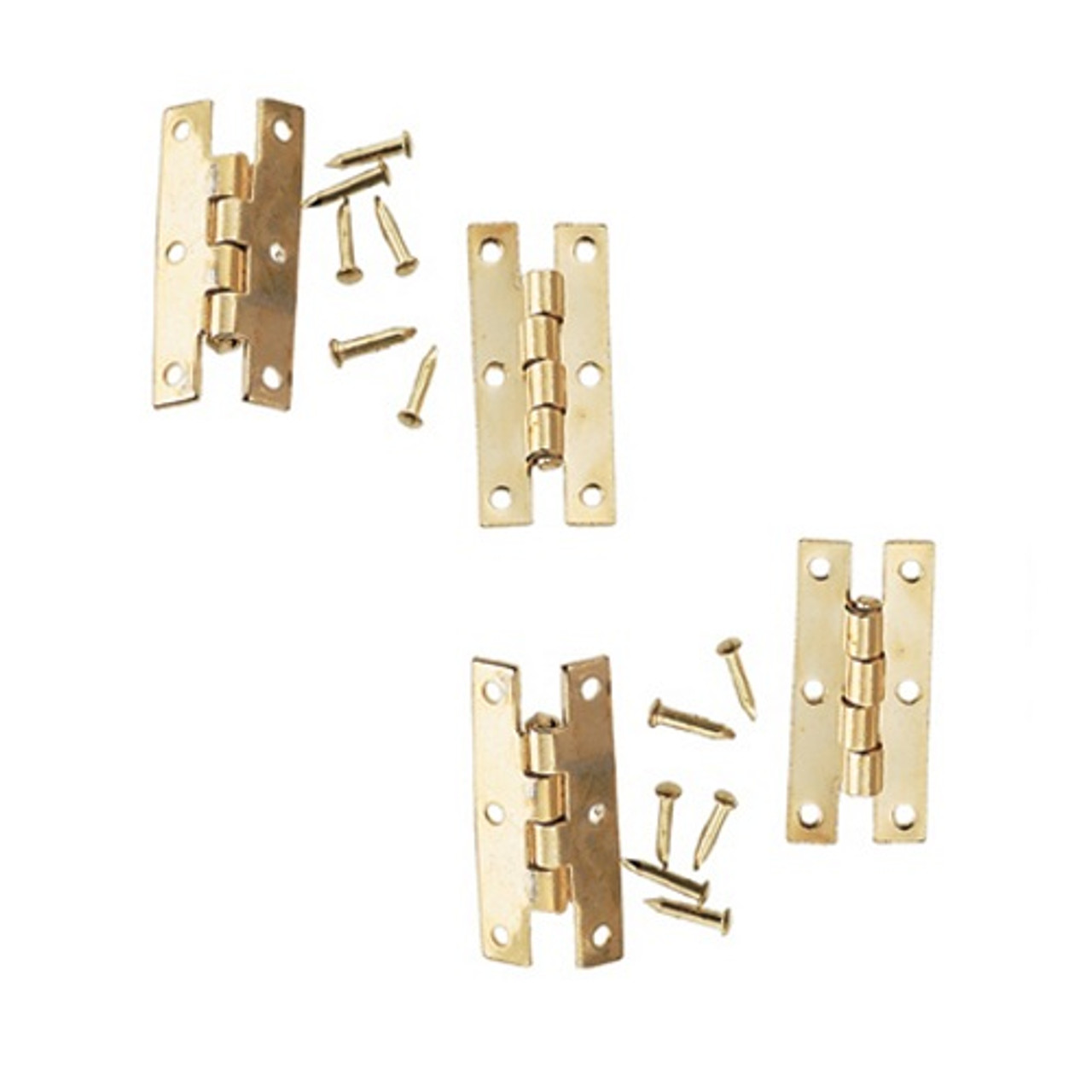 Brass H Hinges