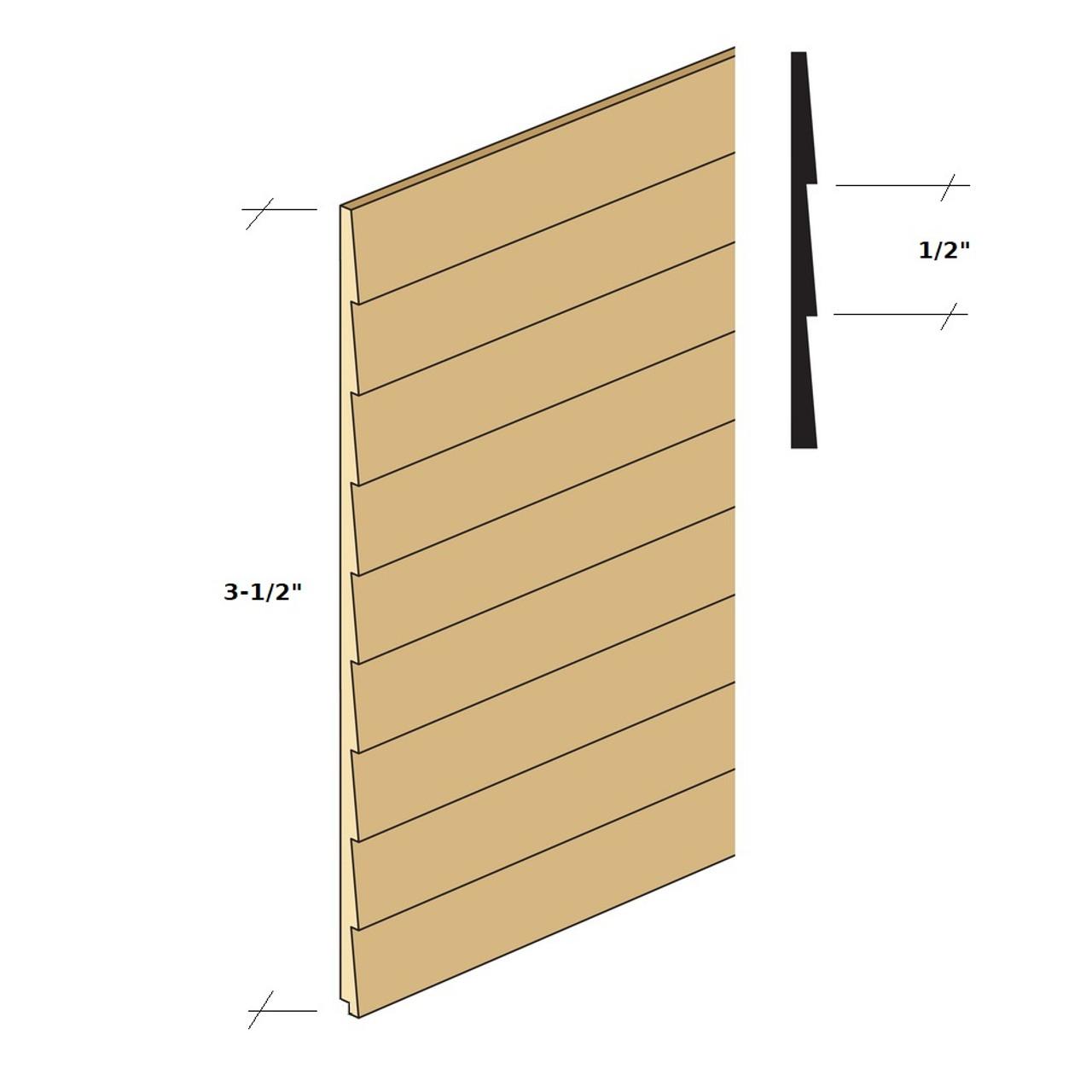 Northeastern Scale Lumber NE384 clapboard siding