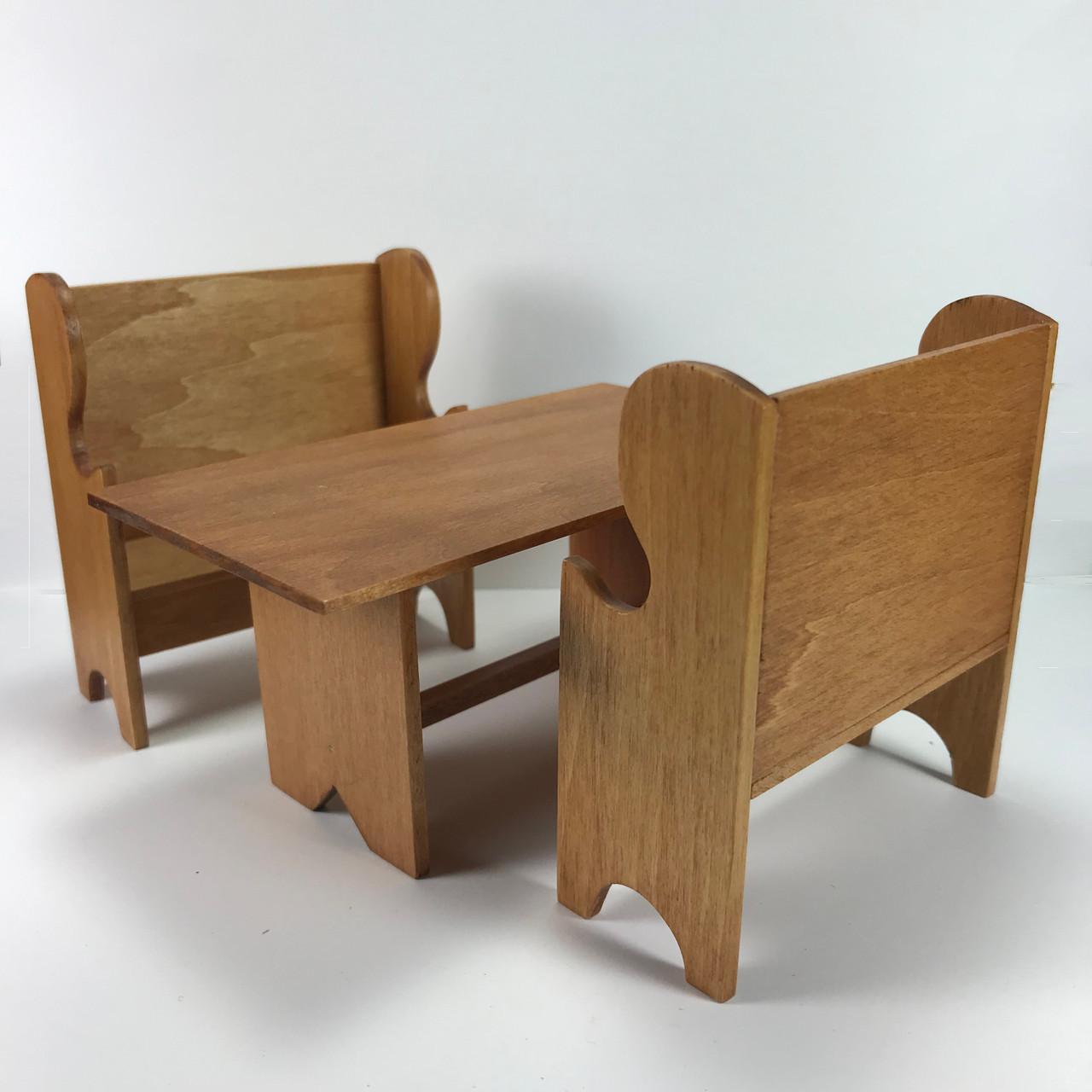 Trestle Table w/2 Settles (IC5021)