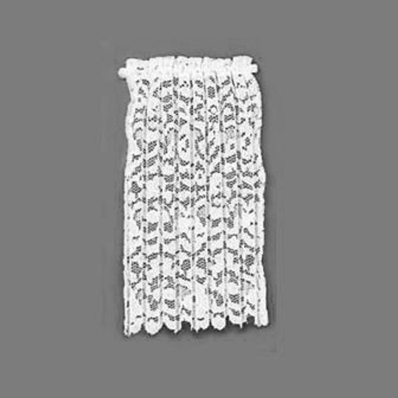 BB50102 - White Lace Drapery