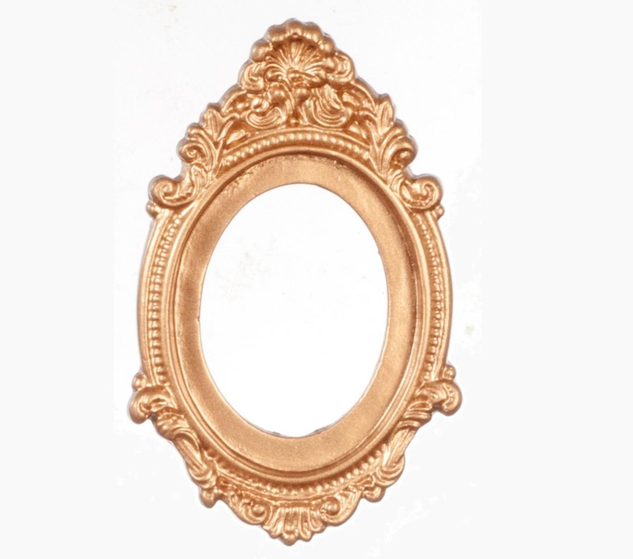 Antique Gold Oval Frame (AZG7087)