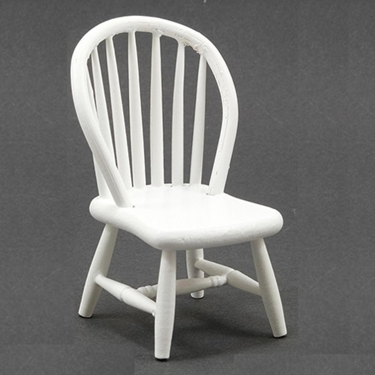 Windsor Side Chair, White (CLA07814)