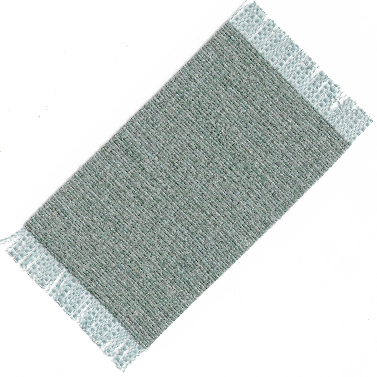 Small Rug in Aqua and Turquoise