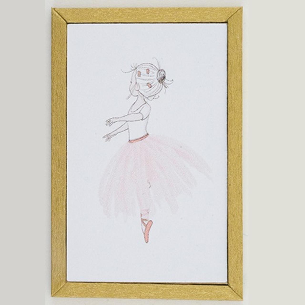 KCMKF35-1: Ballet Dancer Picture (KCMKF35-1)