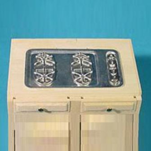 Counter Top Range (HW13432); shown on cabinet (sold separately)