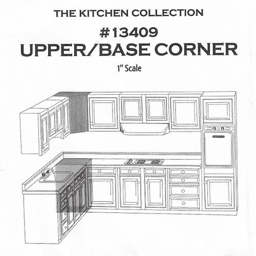 Upper & Lower Cabinet Kit (HW13409); illustration placement/use