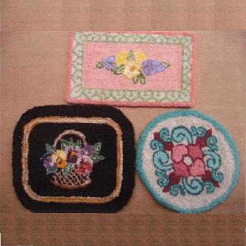 Small Rugs Patterns #1 (BNAMR11-S1); suggested finished versions