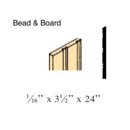 Bead & Board (NE385)  illustrated