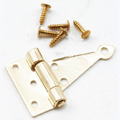 Brass T-Hinge with screw (CLA05560)