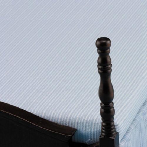 Dollhouse Miniature Walnut Double Bed (CLA10087) closeup
