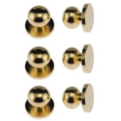 6 Brass Door Knobs (CLA05607)