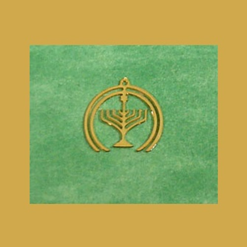 Brass Menorah/Set of 6