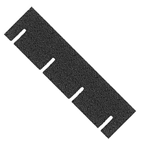 Gray Square Asphalt Shingles (AL4010); single strip
