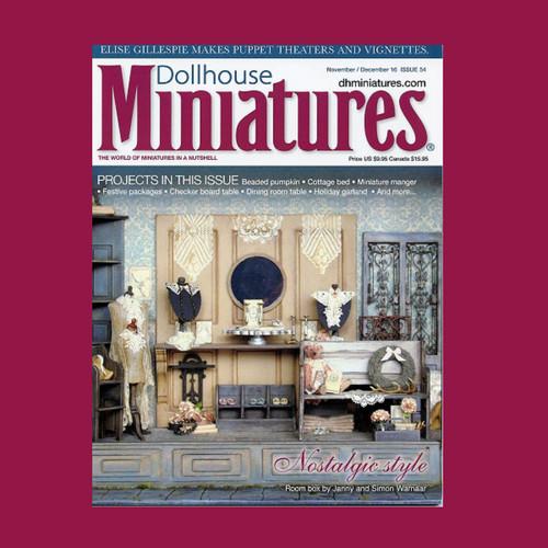 Dollhouse Miniatures Issue 54 (DM5416)