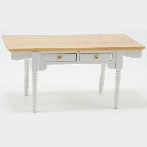 Oak Top White Vermont Table (CLA00552)