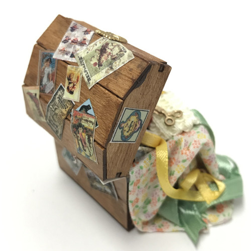 Trunk w/Sewing Supplies
