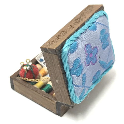 Sewing Box w/Notions