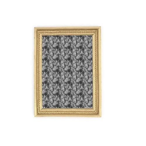 Gold-Tone Rectangular Mirror (A1275)