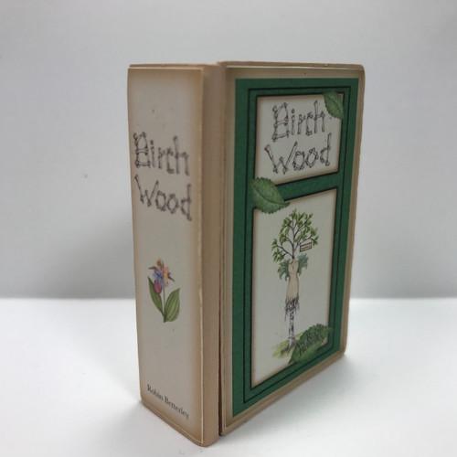 Birch Wood Secret Book (UFN0103) closed