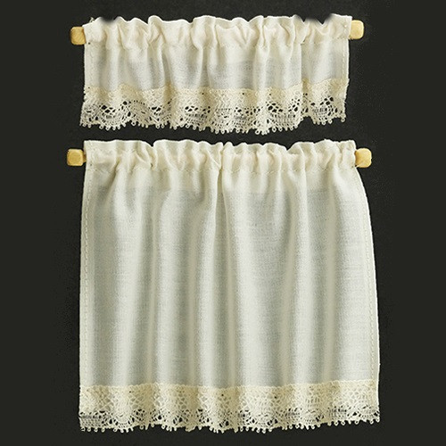 Ecru Cottage Curtains (BB50401)