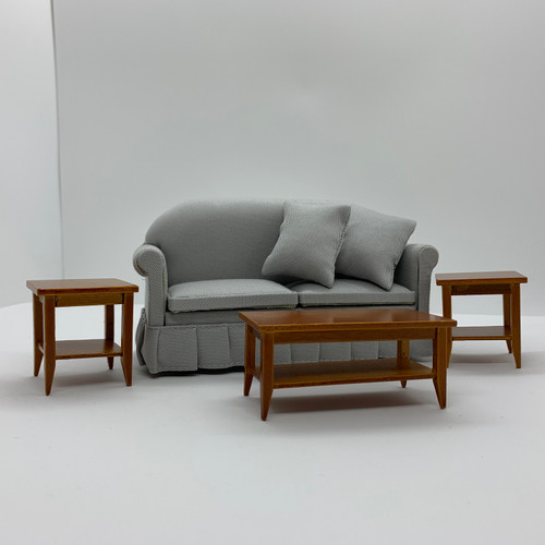 Rectangle, Walnut Coffee Table (AZT2032) shown with sofa (CLA10951)and end tables (AZT2038).  Sofa and end tables sold separately.