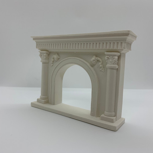 Fireplace (UMF4) alternate angled front facing