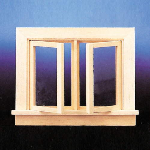 CLA70112 - Double Swing-Out Window Casement