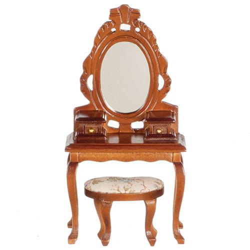 Vanity and stool closeup