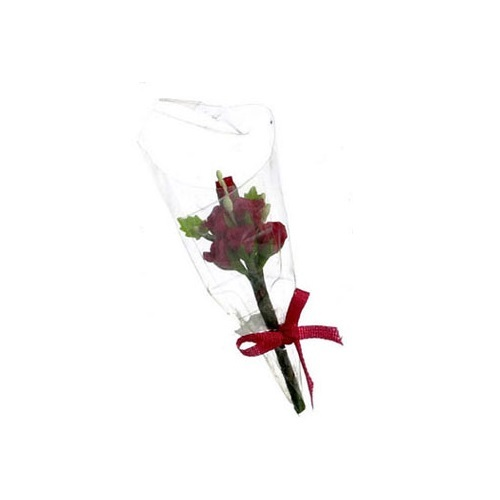 Six Rose Bouquet, Red (N8004RD) dollhouse miniature