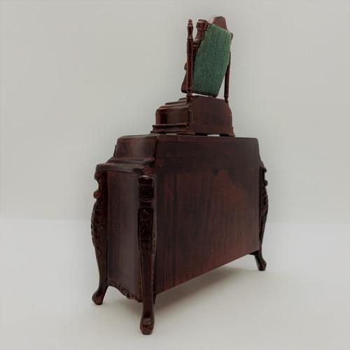 Chateau Dresser w/Mirror Box (BES1783MHA); back view