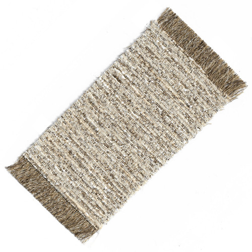 Small Neutral Woven Area Rug (SMSHWRS416G3)