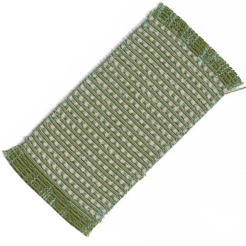 Small Rug in Cream and Greens (SMSHWRS417F)