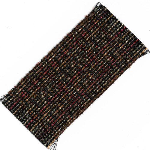 Small Reversible Black and Gold Rug (SMSHWRS419T)