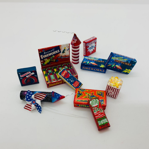 UFN0127 - Assorted Fireworks Boxes