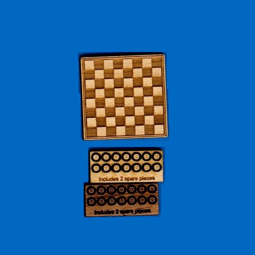 Checkerboard and Checkers Kit (DFI-TY105)