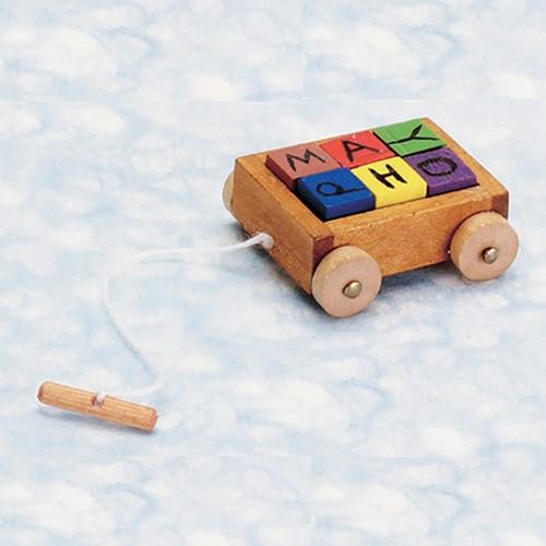 Wagon With Blocks (AZT8469)
