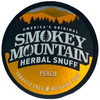 Smokey Mountain Herbal Snuff Peach 1 Can