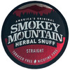 Smokey Mountain Herbal Snuff Straight 1 Can