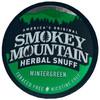 Smokey Mountain Herbal Snuff Wintergreen 1 Can