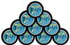 Jake's Mint Chew Pouches Lemonade 10 Cans