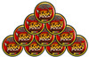 Hooch Snuff Pouch Packs 10 Cans Spitfire