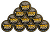 Hooch Snuff Pouch Packs 10 Cans Whiskey